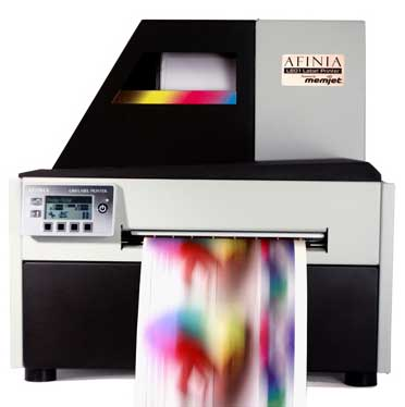 Finance your Afinia L801 memjet color label printer from DuraFastLabel.ca