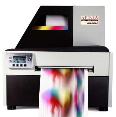 Finance your Afinia L801 memjet color label printer from DuraFastLabel.ca