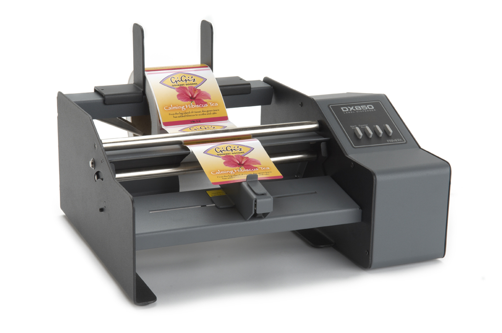 Primera DX850 label dispenser