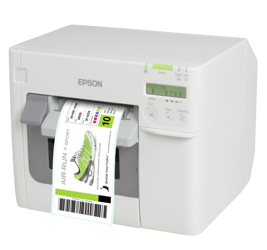Finance your Epson TM-C3500 GHS color label printer from DuraFastlabel.ca