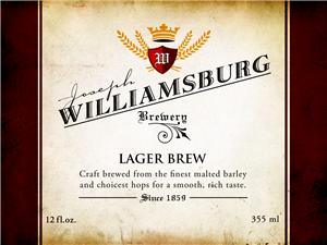 lx400 beer label